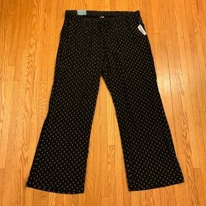 NWT Old Navy Patterned Palazzo Pants